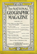 National Geographic February 1945 Magazine