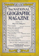 National Geographic March 1945 Magazine