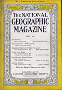 National Geographic April 1945 Magazine