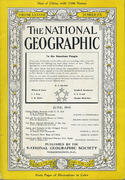 National Geographic June 1945 Magazine