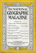 National Geographic January 1940 Magazine