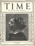 Time Magazine November 10, 1924 Magazine
