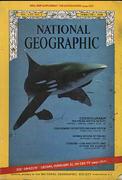 National Geographic February 1968 Magazine