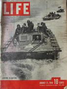 LIFE Magazine August 21, 1944 Magazine