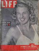 LIFE Magazine September 25, 1944 Magazine