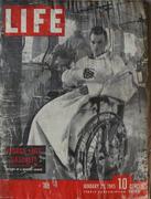 LIFE Magazine January 29, 1945 Magazine
