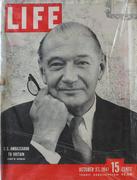 LIFE Magazine October 27, 1947 Magazine