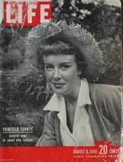 LIFE Magazine August 8, 1949 Magazine