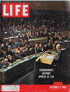 LIFE Magazine October 3, 1960 Magazine