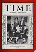 Time Magazine October 8, 1934 Magazine