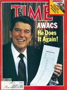 Time Magazine November 9, 1981 Magazine