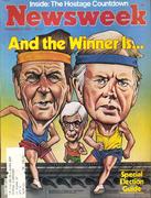 Newsweek Magazine November 3, 1980 Magazine