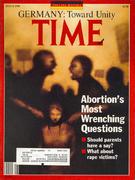 Time Magazine July 9, 1990 Magazine