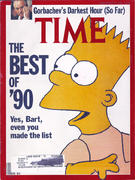 Time Magazine December 31, 1990 Magazine