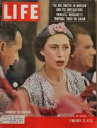 LIFE Magazine February 21, 1955 Magazine