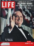 LIFE Magazine January 23, 1956 Magazine