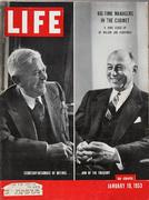LIFE Magazine January 19, 1953 Magazine