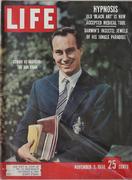 LIFE Magazine November 3, 1958 Magazine