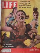 LIFE Magazine January 14, 1957 Magazine