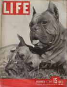 LIFE Magazine November 17, 1947 Magazine