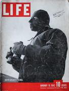 LIFE Magazine January 19, 1942 Magazine
