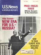 U.S. News & World Report July 2, 1973 Magazine