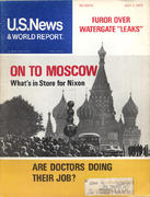 U.S. News & World Report July 1, 1974 Magazine