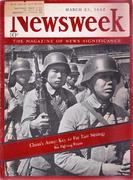 Newsweek Magazine March 23, 1942 Magazine