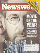 Newsweek Magazine December 20, 1993 Magazine