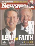 Newsweek Magazine August 21, 2000 Magazine