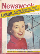 Newsweek Magazine October 22, 1956 Magazine
