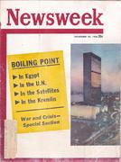 Newsweek Magazine November 26, 1956 Magazine
