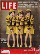 LIFE Magazine March 17, 1958 Magazine