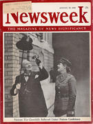 Newsweek Magazine August 23, 1943 Magazine