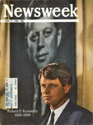 Newsweek Magazine June 17, 1968 Magazine