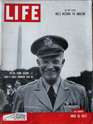 LIFE Magazine June 16, 1952 Magazine