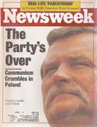 Newsweek Magazine August 28, 1989 Magazine