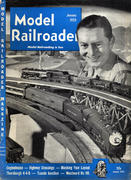 Model Railroader Magazine January 1953 Magazine
