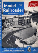 Model Railroader Magazine February 1953 Magazine