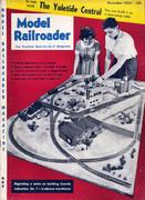 Model Railroader Magazine November 1954 Magazine