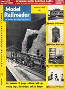 Model Railroader Magazine August 1955 Magazine