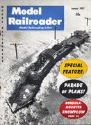 Model Railroader Magazine January 1957 Magazine