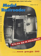 Model Railroader Magazine February 1958 Magazine