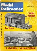 Model Railroader Magazine September 1958 Magazine