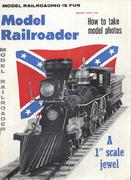 Model Railroader Magazine August 1960 Magazine