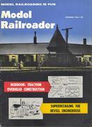 Model Railroader Magazine September 1960 Magazine
