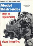 Model Railroader Magazine February 1962 Magazine