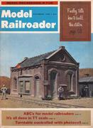 Model Railroader Magazine November 1966 Magazine