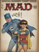 Mad Magazine September 1966 Vintage Magazine