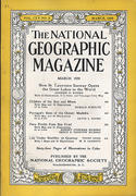 National Geographic March 1959 Magazine